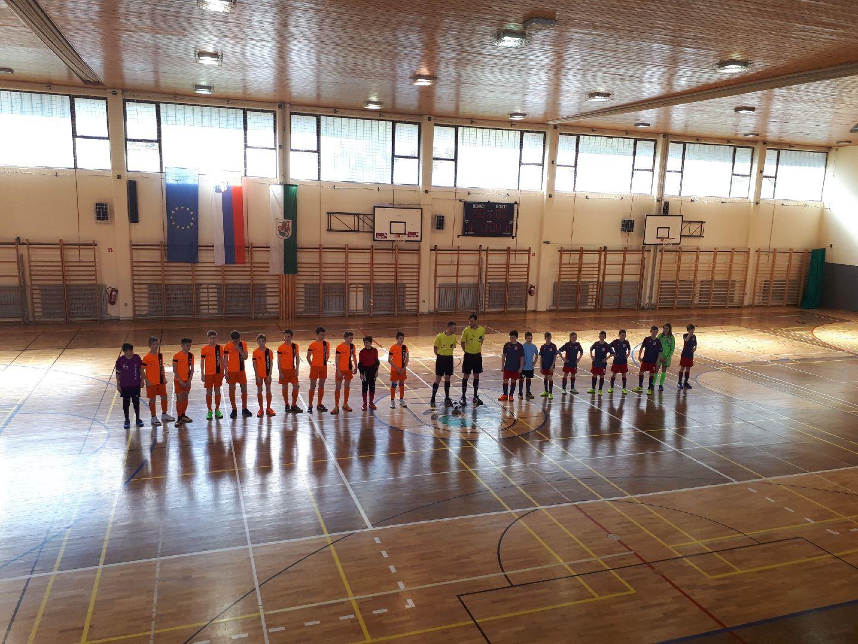 Odigrane prve polfinalne tekme državnega prvenstva v futsalu U13