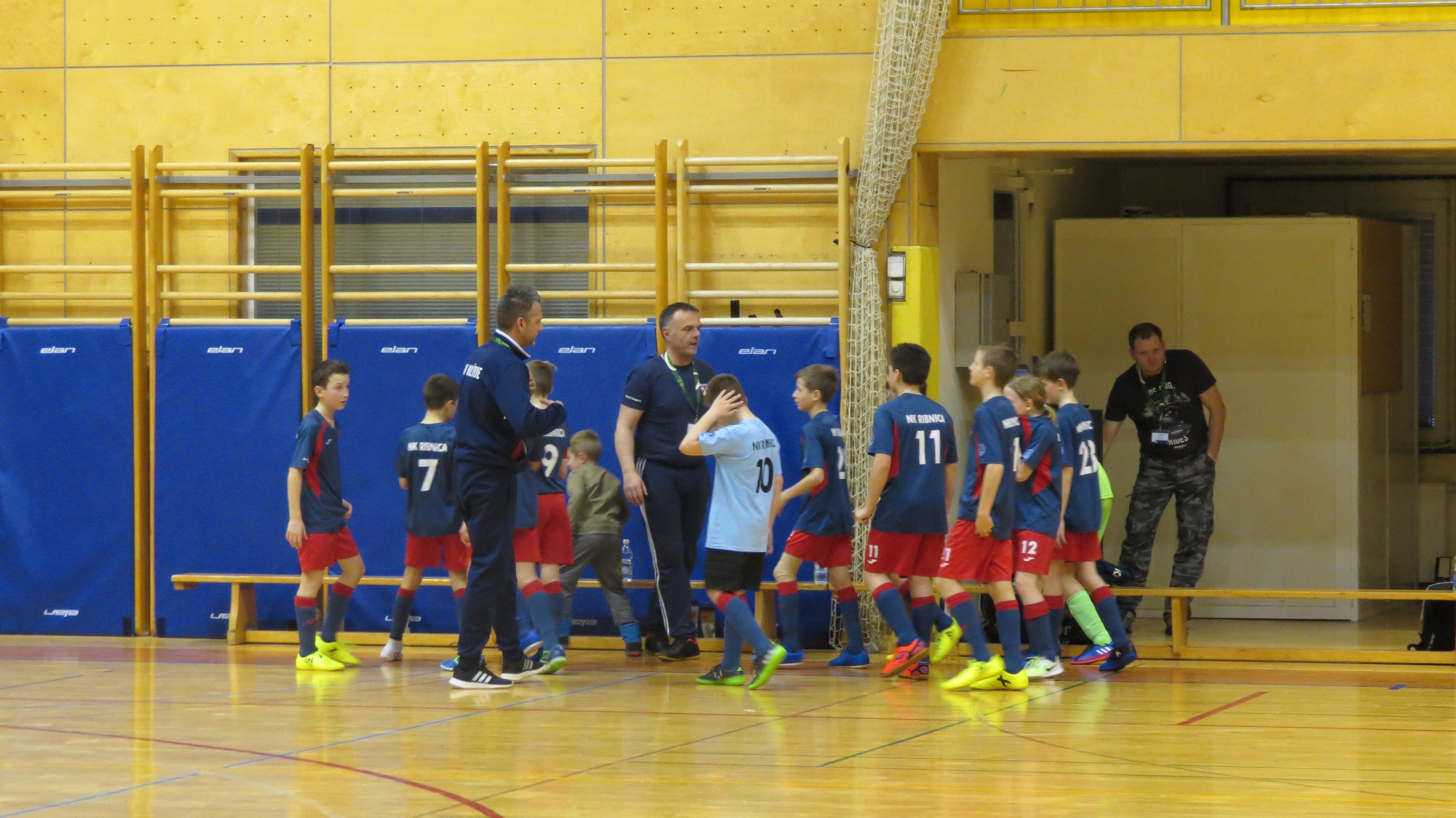 Odigrane četrtfinalne tekme državnega prvenstva FUTSAL U13