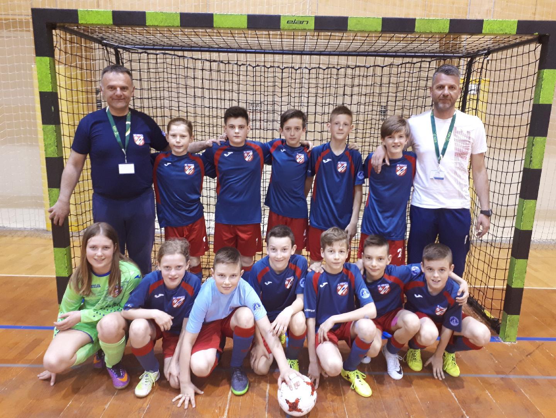 Skupna ekipa NK Ribnica Kočevje zasedla odlično 4. mesto v državnem prvenstvu FUTSAL selekcija U13